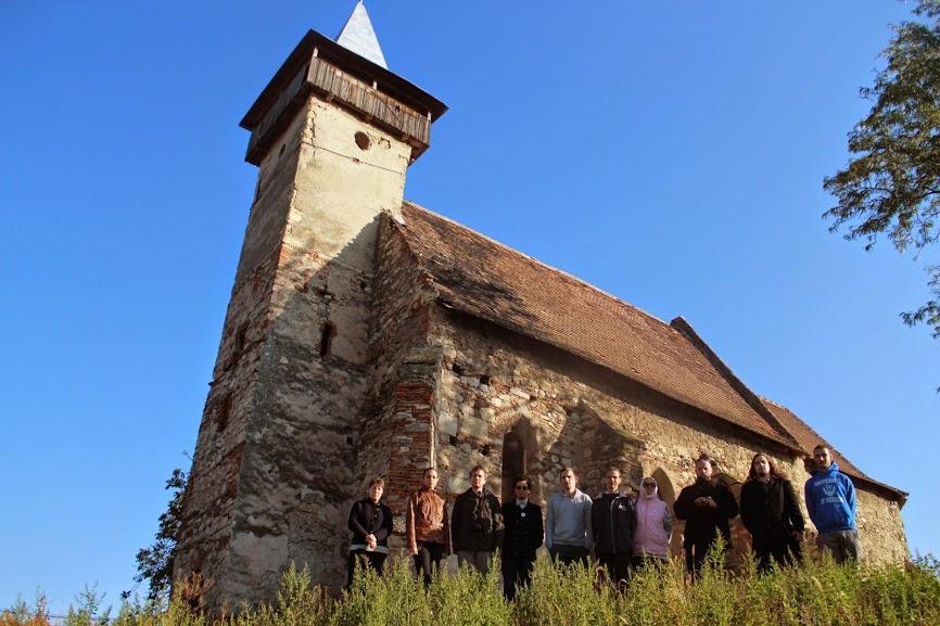A szórvány jelképe: a marosszentimrei református templom (Dél-Erdély)