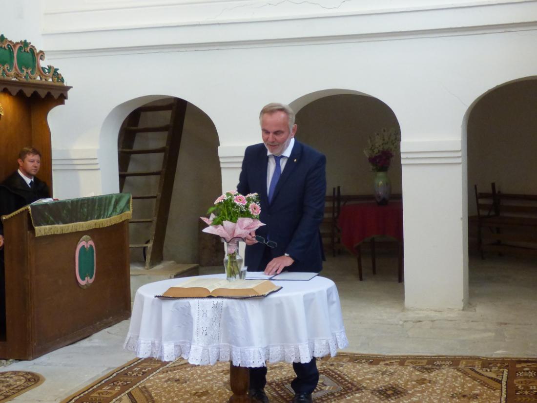Pánczél Károly, az Országgyűlés Nemzeti összetartozás bizottságának elnöke