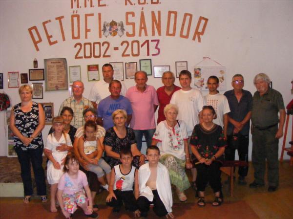 Látogatás a Száva menti magyaroknál, Nyék (Nikinci) faluban