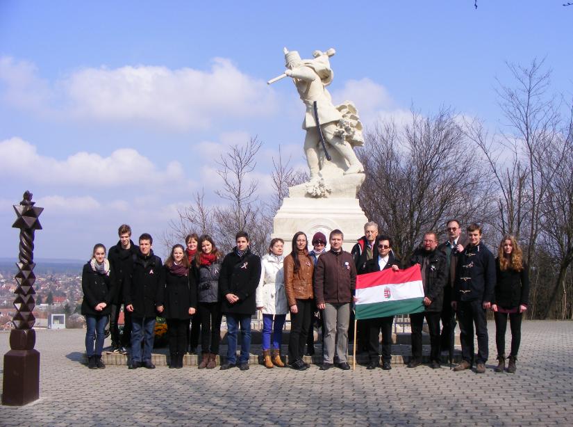 Emléktúra Isaszegen – 2015. március 15.