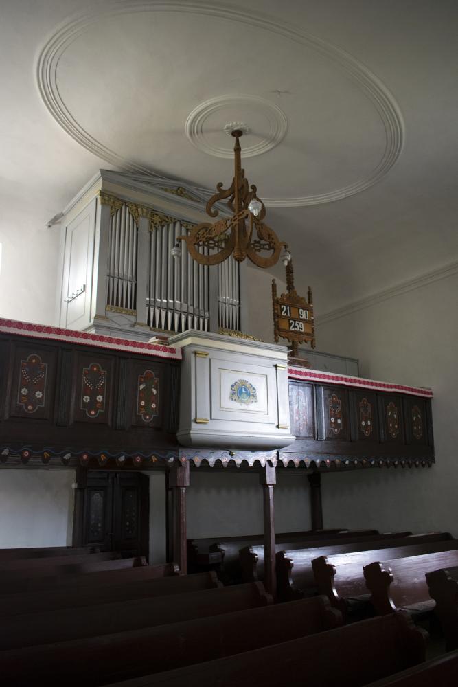 Az ümrösi unitárius templomban