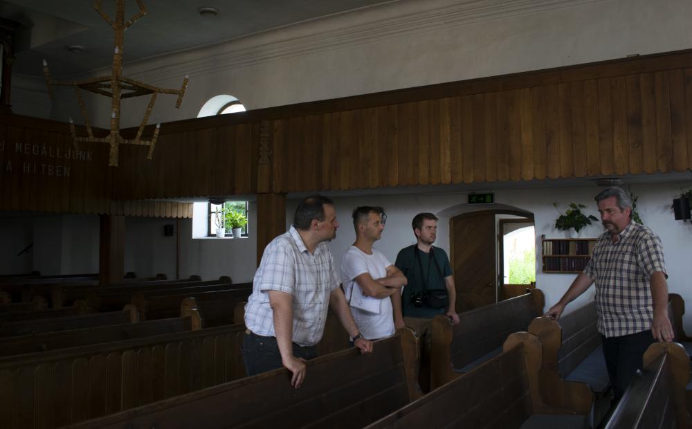 Apáca evangélikus templomában