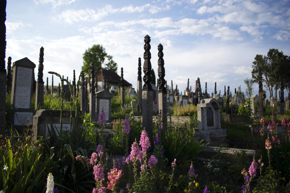 Apáca, evangélikus magyar temető