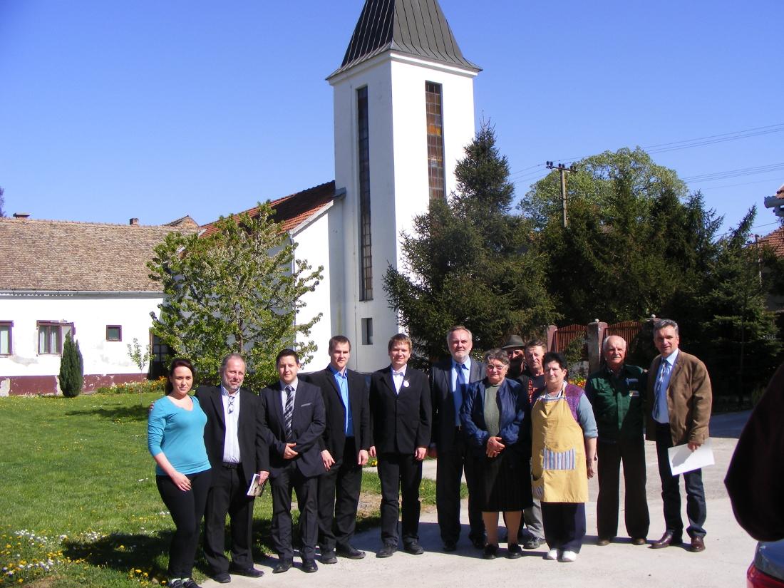 A NÖB küldöttségével Maradékon