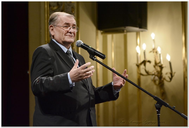 Lezsák Sándor fővédnök, az Országgyűlés alelnöke