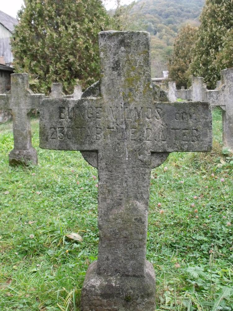 Gefreiter Wilhelm Bunge sírja (Bánkúti Ákos felvétele)
