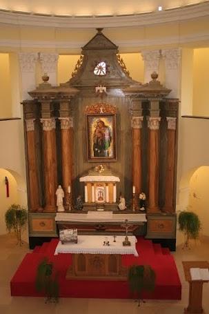 A Békekápolna oltára