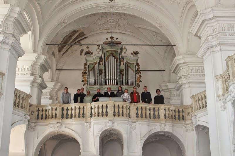 Az erdélyi Magyarigen templomában