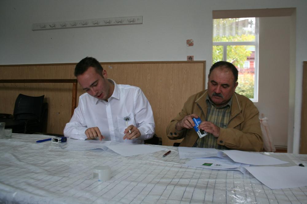 Az együttműködési megállapodás aláírásának pillanatai