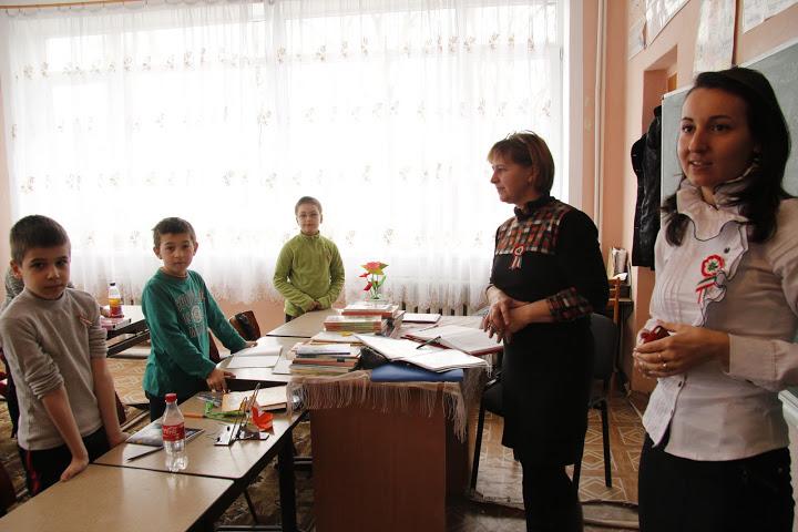 Március 15. a szolyvai magyar iskolában