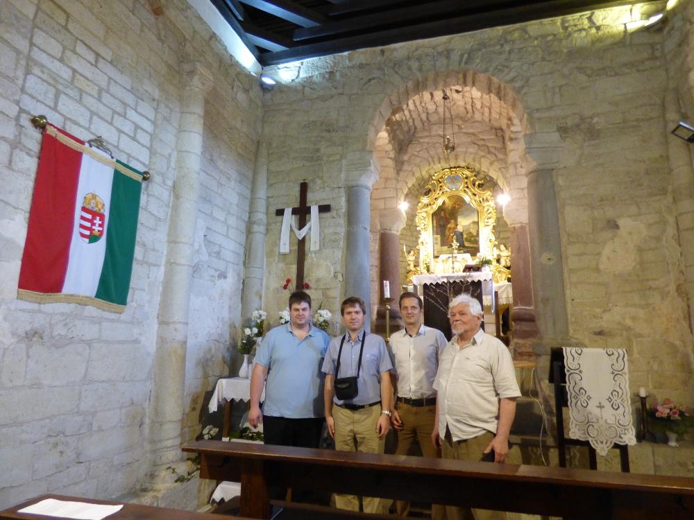 Tarnaszentmária ősi templomában