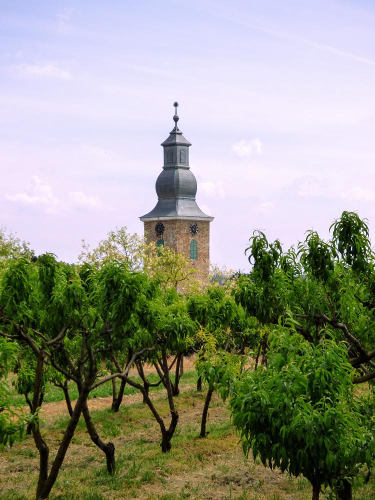 A templom Csúzán
