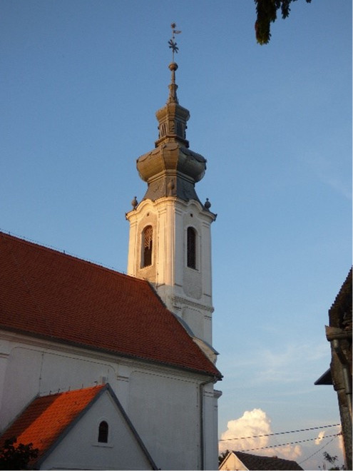 A haraszti templom tornya