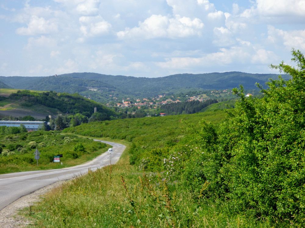 A Tarcal-hegység Réva (Rivica) határában