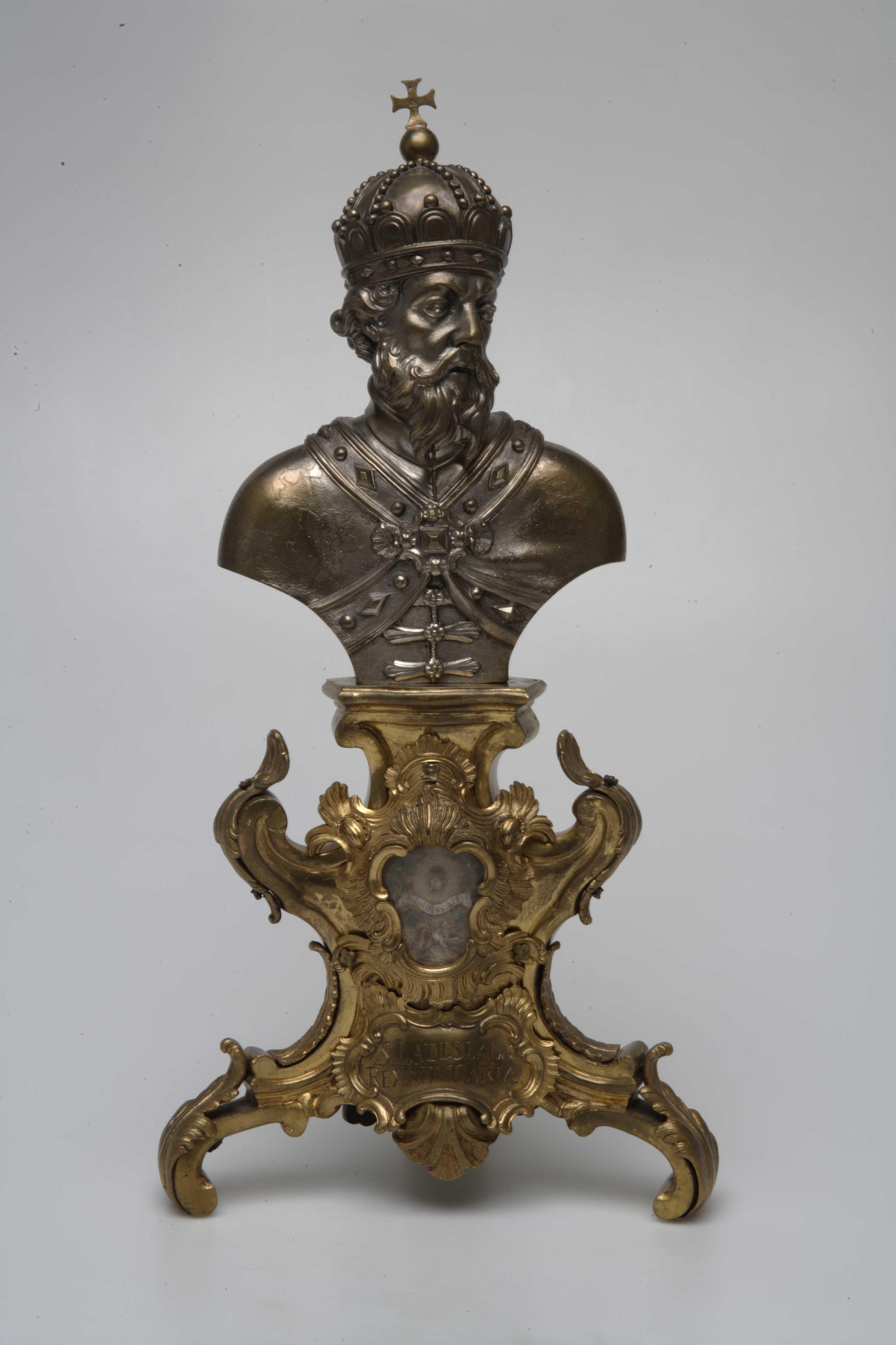A Bécsi ereklyetartó a Magyar Nemzeti Múzeumban (Forrás: mnm.hu, Magyar Nemzeti Múzeum)