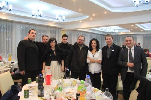 Besztercei barátainkkal a Magyar Bálon