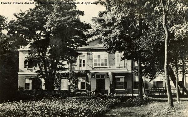 A Hegyikastély egy 1939-es felvételen