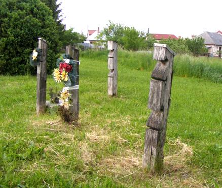 A hardicsai temető részlete