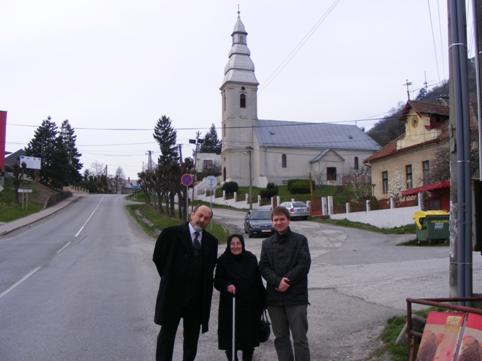 Varga Erzsike néni, a legidősebb falubeli boldogan idézte fel a Felvidék 1938-as visszatérését