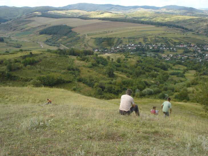 Moldvai táj (Klézse. Fotó: Lengyel László)