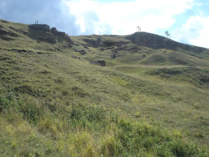 A Táltos-hegy sziklái