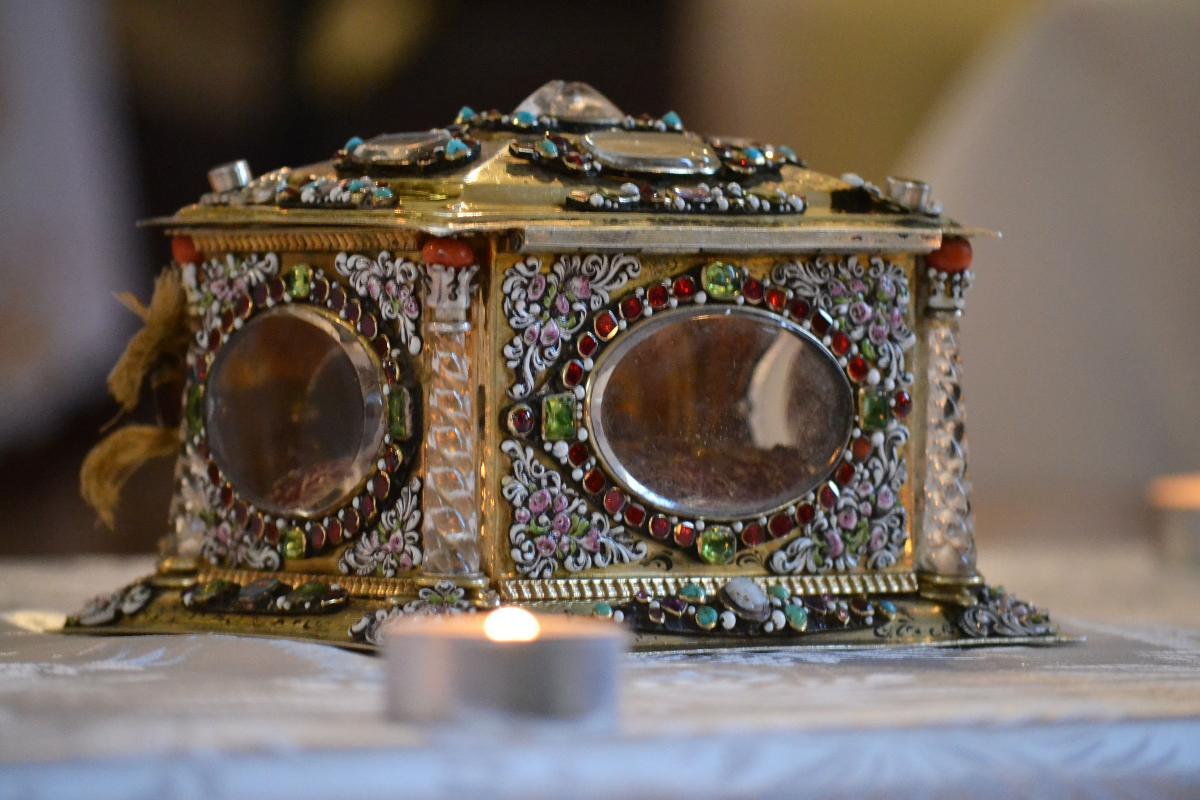 A nyakszirtcsontot tartalmazó kazetta (Forrás: hirek.varad.org/hu)