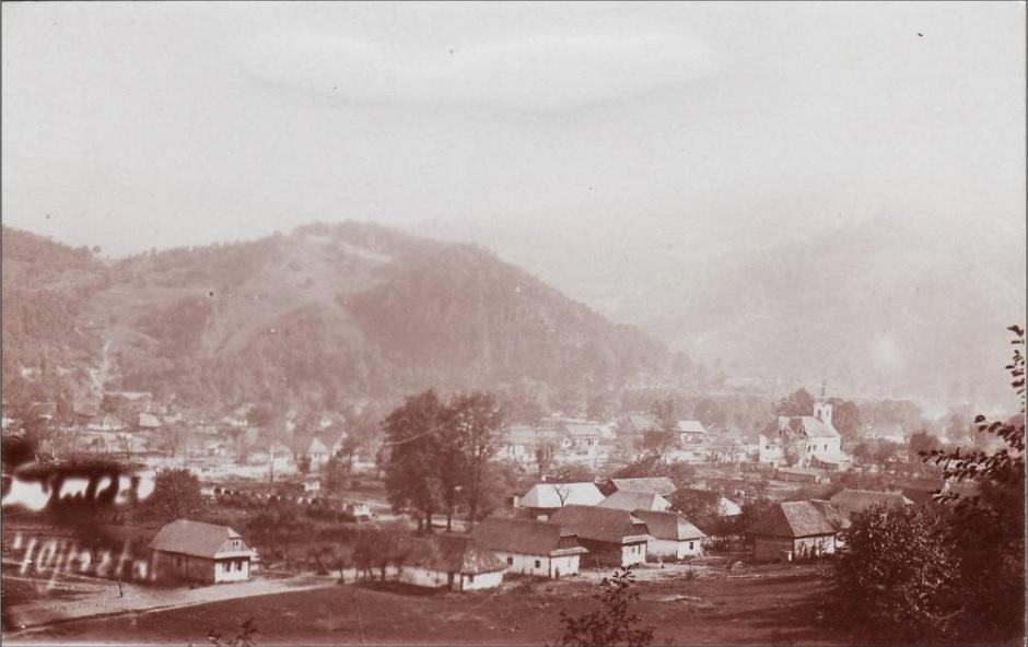 Sósmező látképe 1917-ben