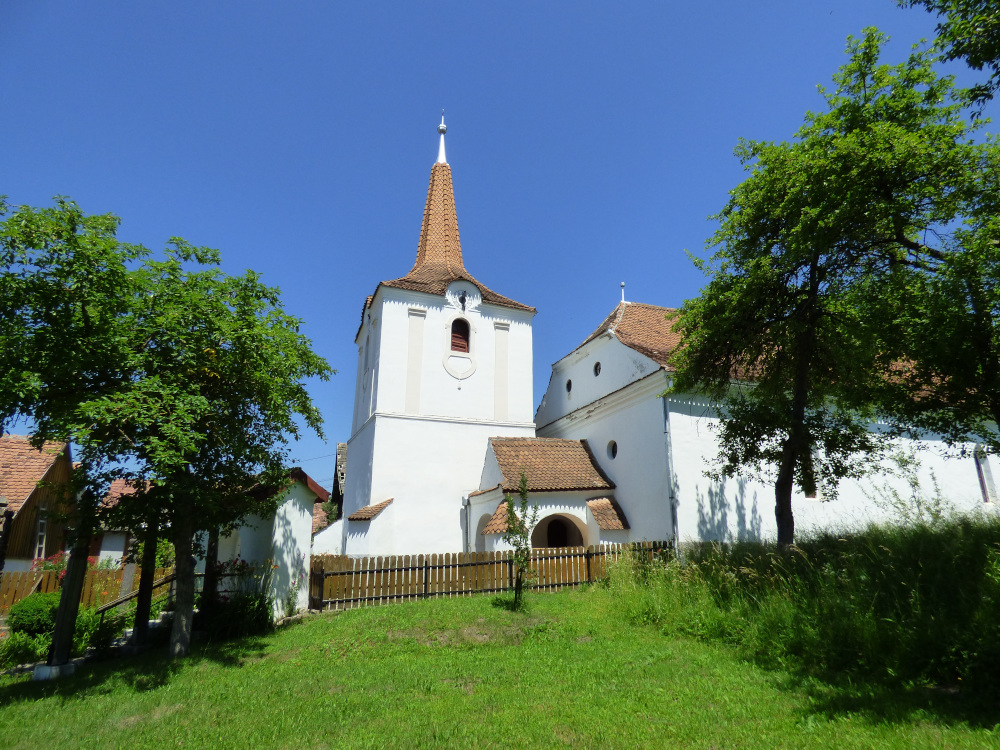 A Bethlen Kata által építtetett református templom Olthévízen