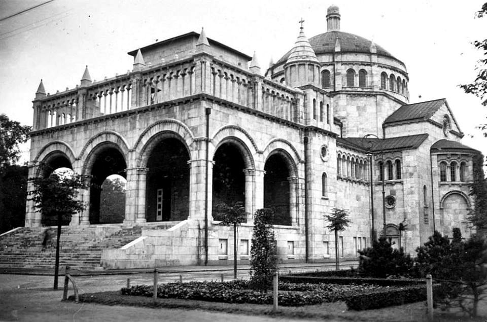 A Regnum Marianum-templom 1936-ban
