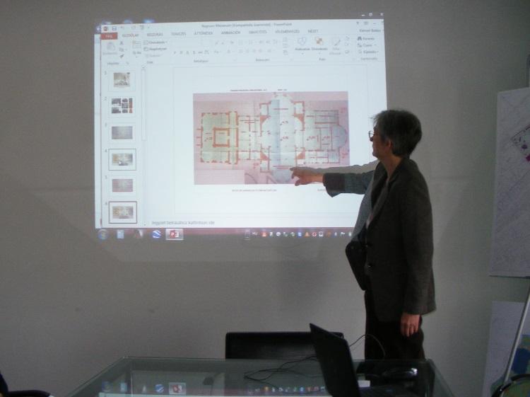 Kralovánszky Réka műemlékvédelmi szakmérnök-építészmérnök
