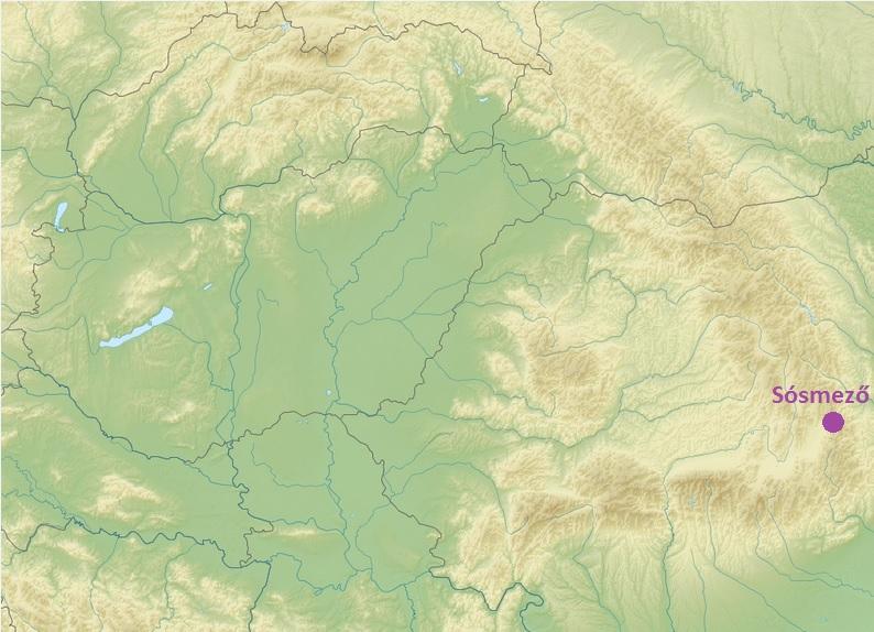 Sósmező a térképen