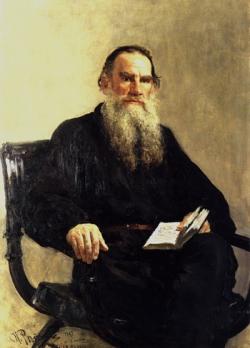Lev Tolsztoj elismert regényíró volt, leghíresebb művei a Háború és béke és az Anna Karenina