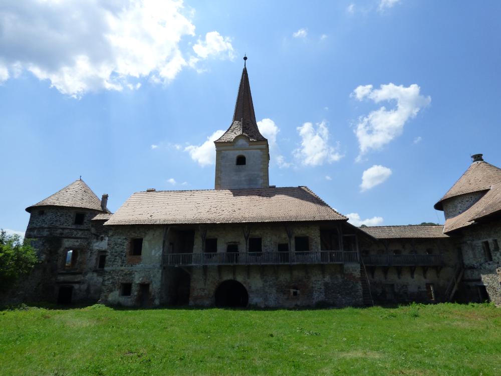 A vár belső udvara manapság